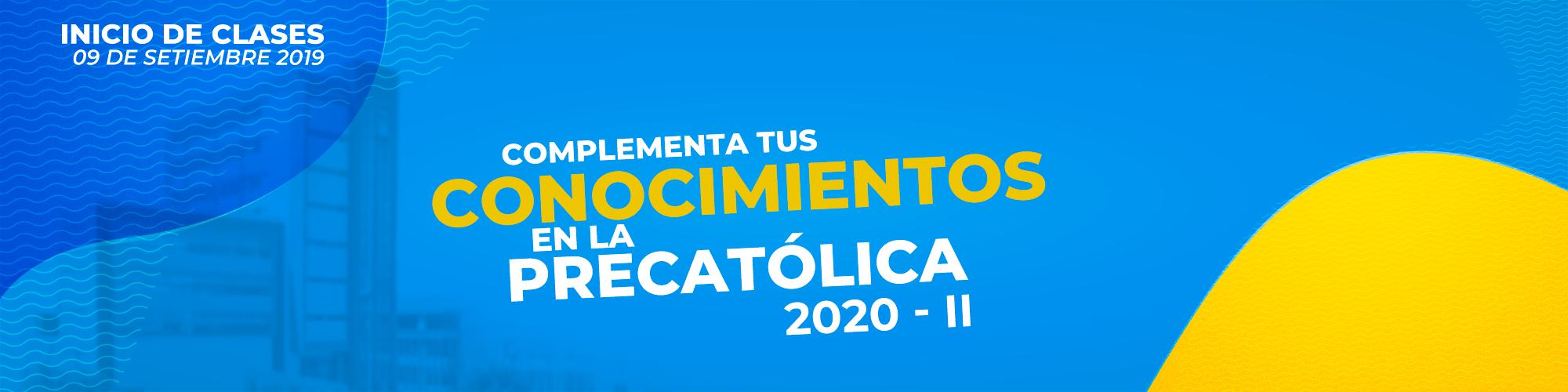 Precatolica 2020