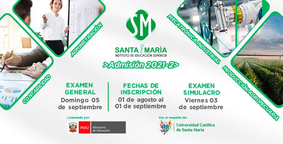 ucsm-instituto-de-educacion-superior-santa-maria-apertura-inscripciones-para-el-proceso-de-admision-2021-ii-portada